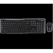 Combo Teclado y Mouse Inalámbricos Logitech MK270
